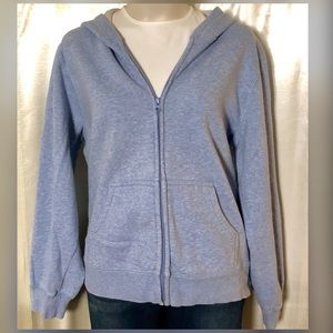 Cozy baby blue sweatshirt